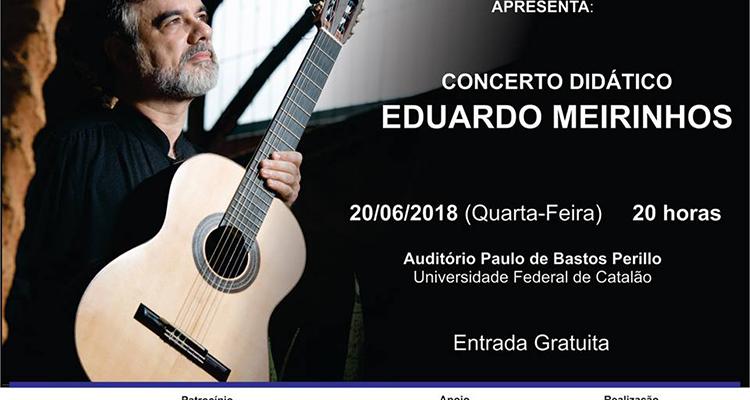 Com apoio de CMOC, Projeto Mãos que Tocam apresenta concerto em Catalão (GO)