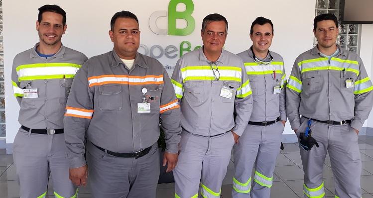 Empregados da CMOC recebem certificação internacional em lubrificação de máquinas