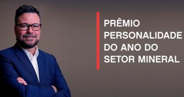 Diretor-executivo da CMOC Brasil é eleito Personalidade do  Ano do Setor Mineral