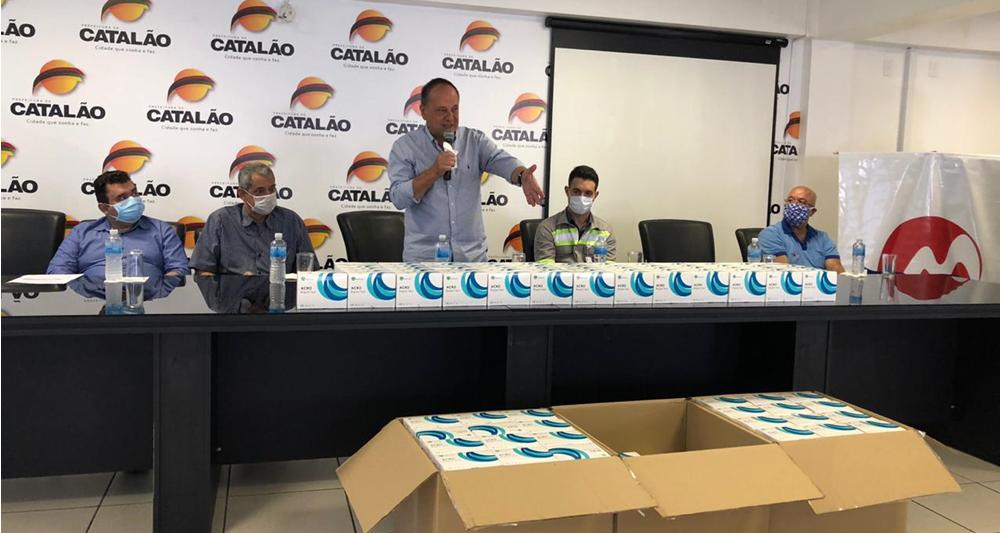 CMOC doa 20 mil kits de testes para identificação do coronavírus