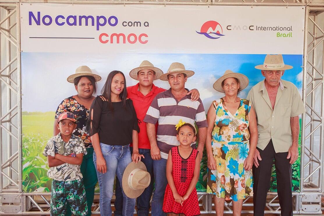 No Campo com a CMOC leva atrações e serviços à comunidade Coqueiros