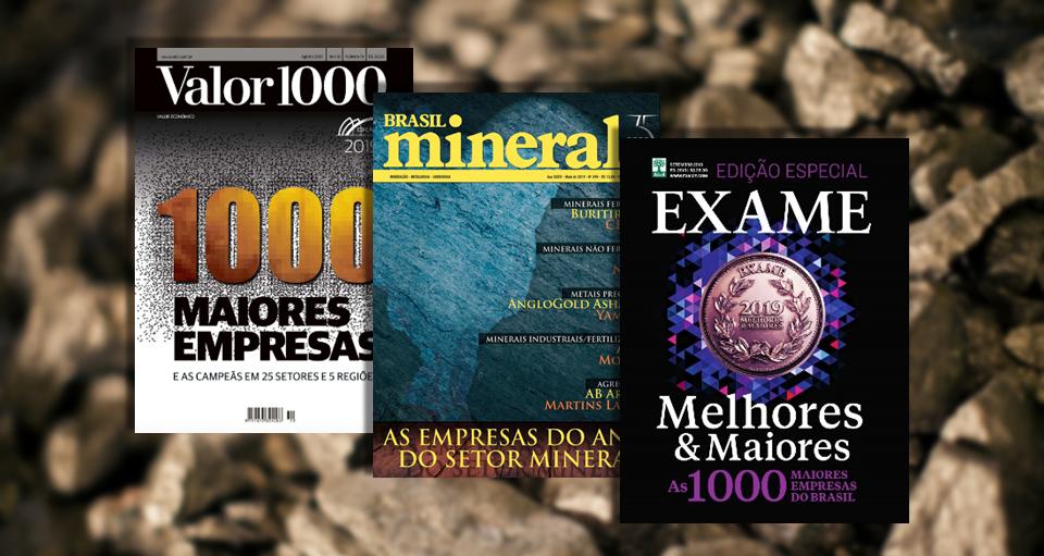 CMOC é uma das maiores empresas do Brasil, apontam publicações